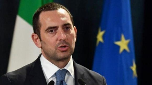 Vicenzo Spadafora, ministro de Deportes de Italia