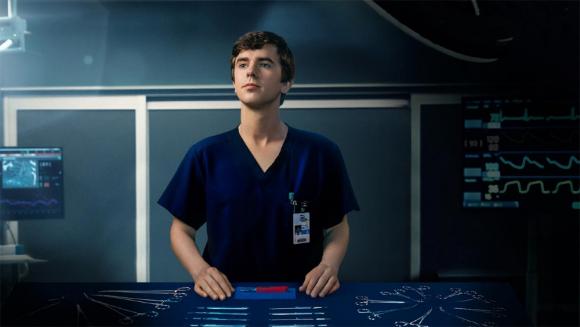 "Freddie Highmore es Shaun Murphy en ""The Good Doctor"". Foto: Difusión"