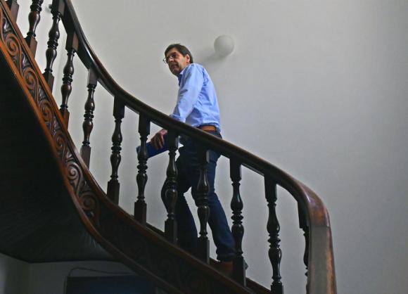 Javier Miranda, presidente del FA. Foto: Fernando Ponzetto