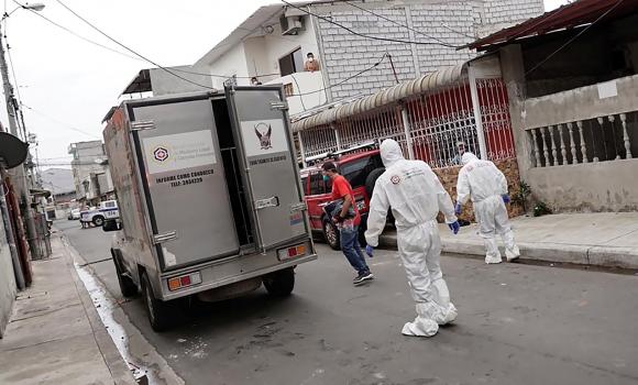Coronavirus en Ecuador. Foto: AFP.