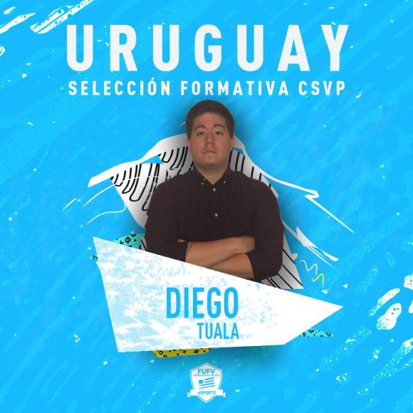 Diego Tuala, entrenador de la selección formativa.