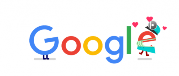 "Doodle de Google: ""Cordonavirus"". Foto: Captura"