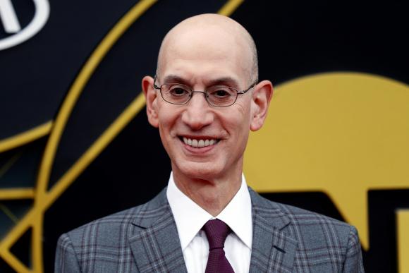 Adam Silver, el comisionado de la NBA. Foto: EFE.