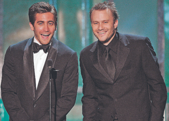 Jake Gyllenhaal y Heath Ledger. Foto: Archivo