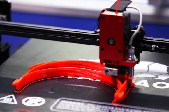 La impresión 3D es un proceso de fabricación aparecido en los años 1980. Foto: AFP