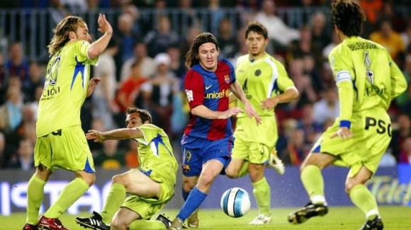 Gol de Messi a Getafe 2009