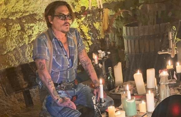 Johnny Depp. Foto: Instagram @johnnydepp