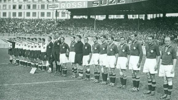 Los equipos de Alemania y Suiza en la cancha. Foto: Archivo.