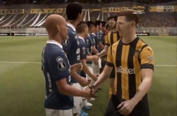 Jorge Wilstermann vs. Peñarol - FIFA 20.