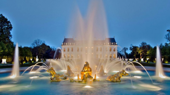 Chateau Luis XIV, el palacio del príncipe saudita
