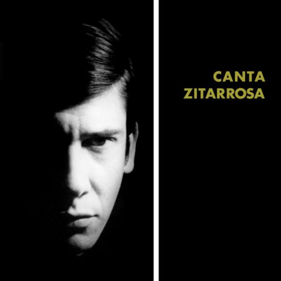 """""""Canta Zitarrosa"""", portada del primer disco de Alfredo Zitarrosa"""