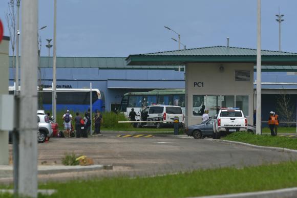 Punta de Rieles: la primera y única cárcel en Uruguay por PPP. Foto: Fernando Ponzetto