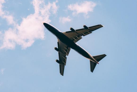 Avión. Foto: Unsplash