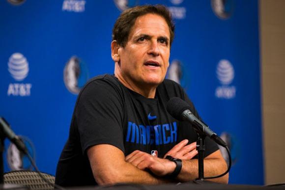 Mark Cuban, dueño de los Dallas Mavericks