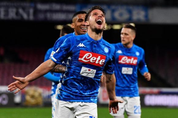 Dries Mertens, una estrella del Napoli