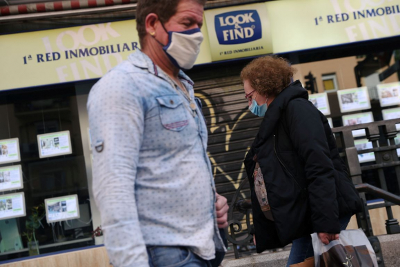 Coronavirus en España. Foto: Reuters.