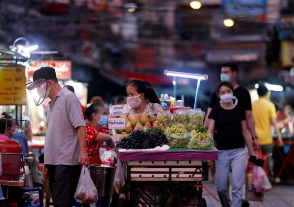 Bangkok, capital de Tailandia con coronavirus