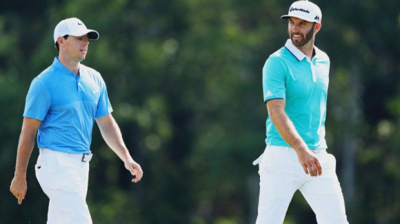 Rory McIlroy y Dustin Johnson