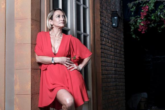Andrea Ghidone; cuarentena a la uruguaya. Foto: Darwin Borrelli