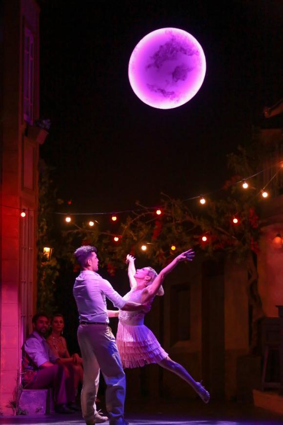 "Andrea Ghidone en ""Tango en Rose"". Foto: Difusión"