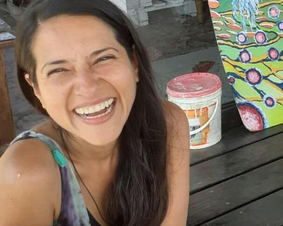 Claudia Milena Giraldo Peña, colombiana desaparecida en Santa Isabel (Rocha). Foto: Armada.