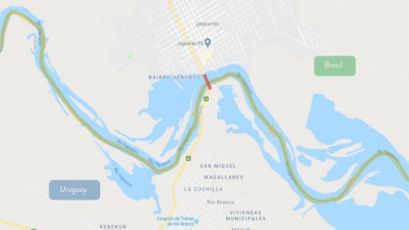 Límite Río Branco- Jagoarao