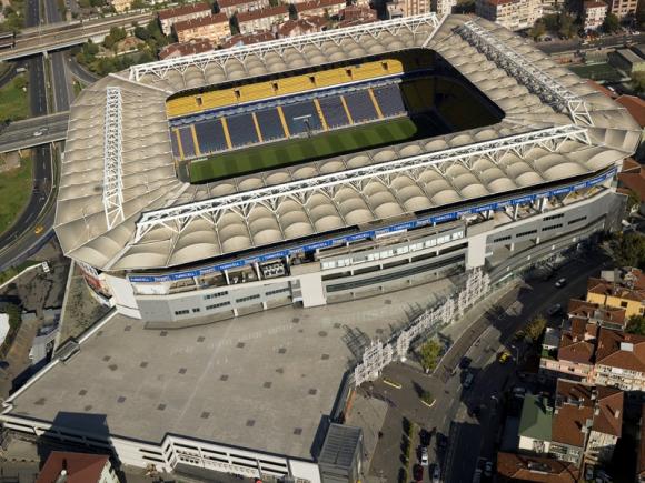 El estadio del Fenerbahce