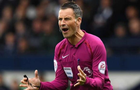 Mark Clattenburg, árbitro inglés