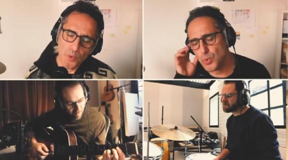 """Jorge Drexler en la nueva versión de """"Al otro lado del río"""". Foto: Captura de YouTube"""
