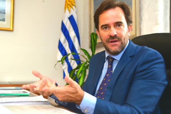 El ministro de Turismo se refirió a los desafíos y potenciales oportunidades. Foto: Francisco Flores