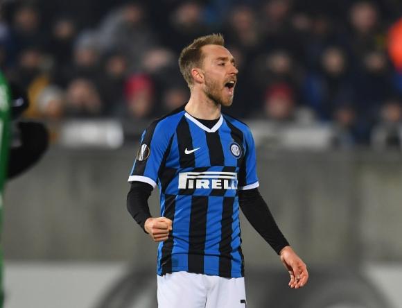 Christian Eriksen en el Inter de Milán