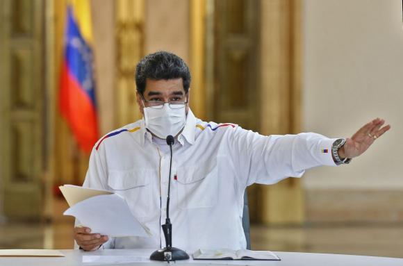 Nicolás Maduro. Foto: AFP.