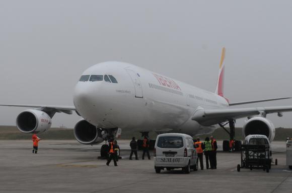 La aerolínea Iberia es española. Foto: archivo El País.