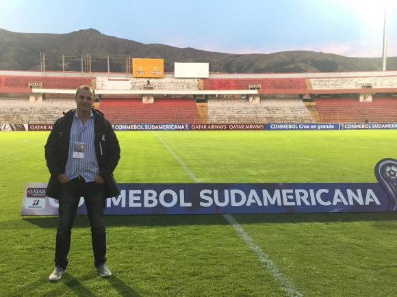Gabriel Blanco, presidente de Wanderers.