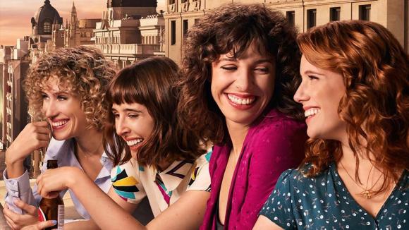 """Valeria"", la nueva serie original de Netflix. Foto: Netflix."