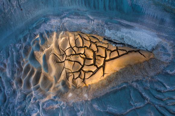 Arte de la naturaleza: Deshielo. Foto: Big Picture Natural World Photography 2020