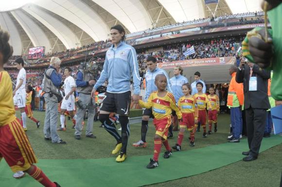 En Sudáfrica 2010 hubo 9 jugadores de 23 que nacieron en el Interior del país