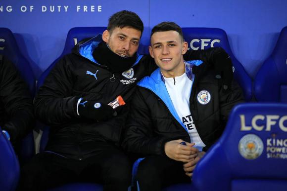 Presente y futuro: David Silva y Phil Foden en Manchester City. Foto: @PhilFoden