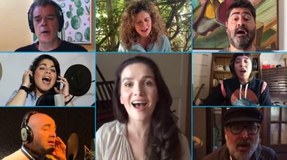 Músicos interpretan Chiquillada para campaña de Unicerf. Foto: Captura
