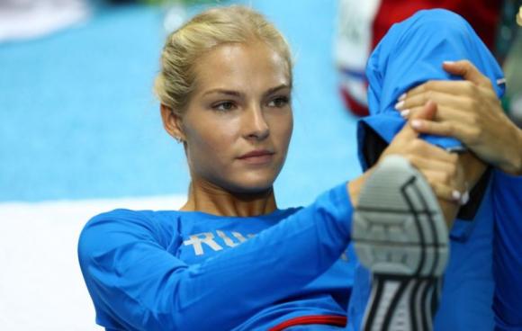 Darya Klishina, atleta y modelo rusa