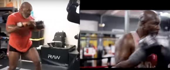 Mike Tyson y Evander Holyfield están entrenando para volver al ring