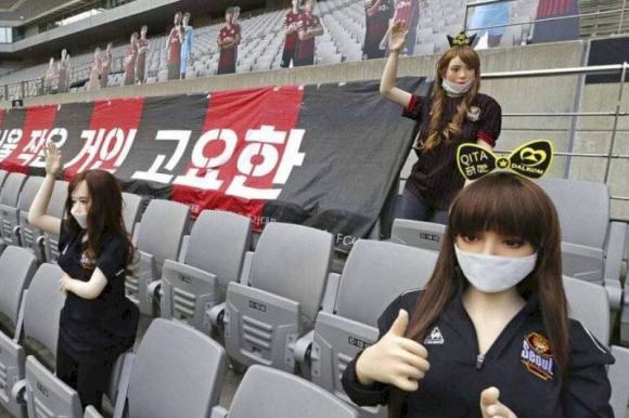 El FC Seúl enfrenta serias sanciones por usar muñecas sexuales como aficionados