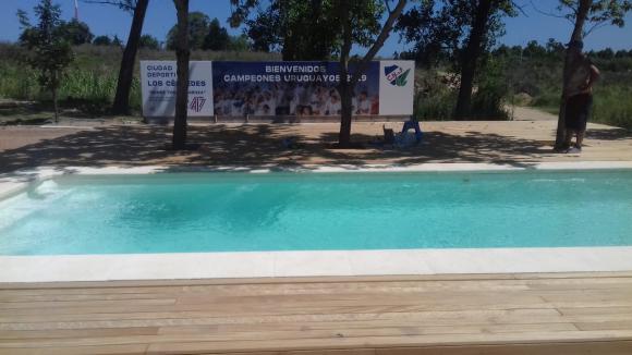 La nueva piscina de Los Céspedes, inaugurada en enero. FOTO: Francisco Maronna.