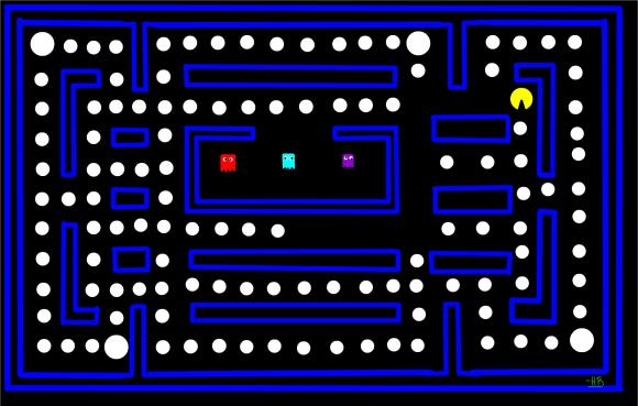 Pac-Man. Foto: SketchPort.