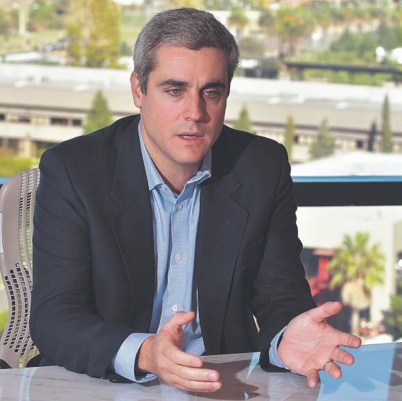 Martín Dovat, gerente general de Zonamerica. Foto: Leonardo Mainé.