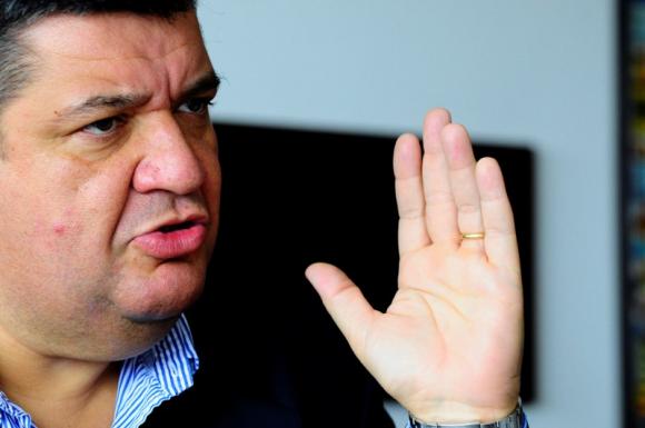 Jorge Barrera, presidente de Peñarol