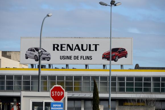 Fábrica. La instalación de Renault en Flins sería una de las afectadas por la crisis de la empresa.