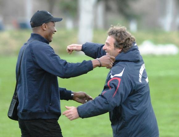 Richard Morales y Daniel Carreño. FOTO: Archivo El País.