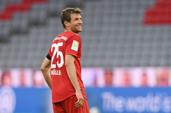 Thomas Müller. Foto: AFP.