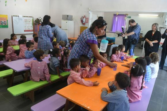Educación Inicial. Foto: Francisco Flores.